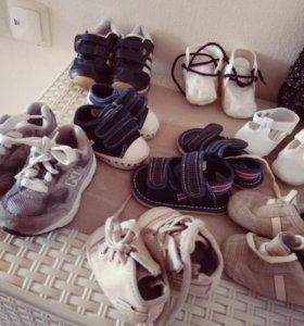 Обувь, с рождения до 8-10 лет, Италия