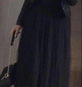 Кожаная куртка и сумка