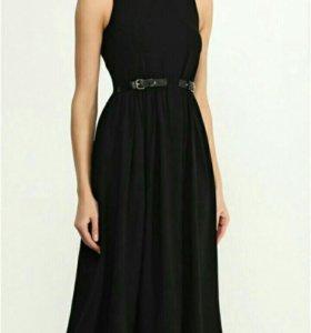 Чёрное платье lost ink