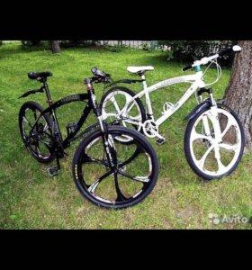 Велосипеды в ассортименте.