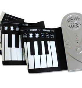 Пианино гибкое, 49 клавиш, новое