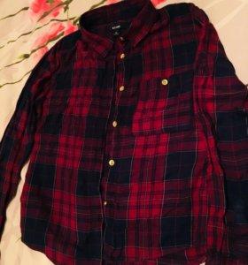 Стильная рубашка на девочку на возраст 7-8 лет.