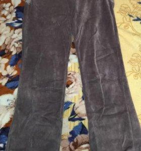 Плюшевые спортивные штаны