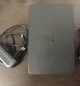 Переносной жёсткий диск WD- 160 гб.