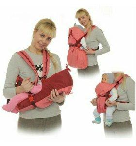 Рюкзак переноска babyactive lux чудо-чадо