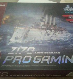 Asus z170 pro gaming Новая