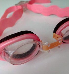 Детские очки для плавания (на ребенка 3-4 лет)