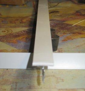 Профиль Т-24 NORMA(мет) белый; L=0.6 м.