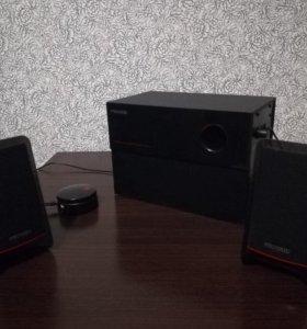 Колонки и сабвуфер Microlab M-200