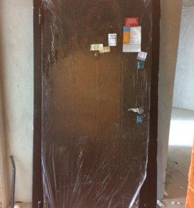 Дверь входная металлическая «форпост» 96