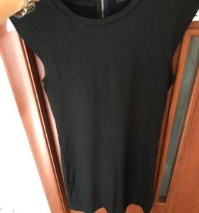 Платье манго трикотажное