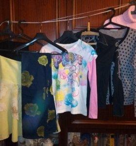 Вещи на девочку-подростка пакетом