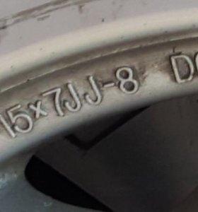 Литьё R15 комплект 5 шт