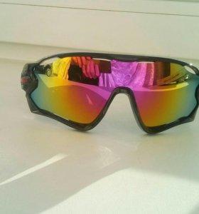 Очки солнечные спорт горнолыжные мотоциклетные