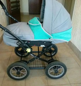 Детская коляска классика + прогулочный блок