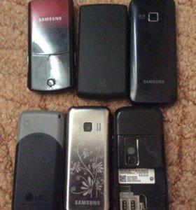 Телефоны Nokia Samsung, lg