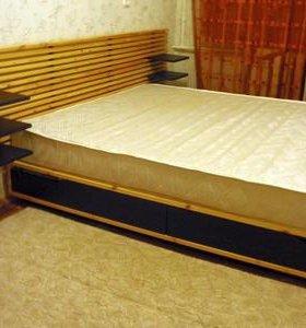 Кровать с изголовьем Мэндаль IKEA® в Славянке