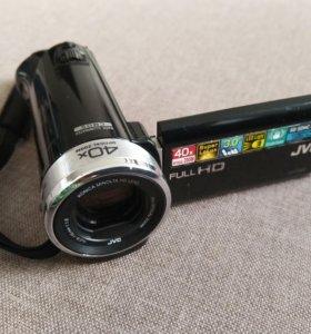 FullHD Видеокамера JVC GZ-E209BE