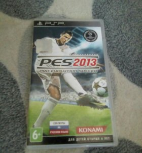 Диск для PSP PES 2013