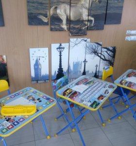 Столик со стульчиком детские (комплект)