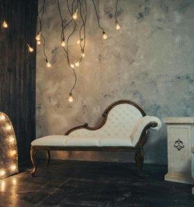 Аренда фотозон, мебели и декораций