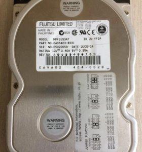 Жесткий диск 15 gb IDE