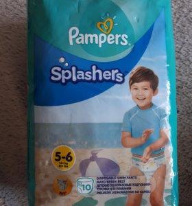 Детские одноразовые подгузники-трусики для плавани