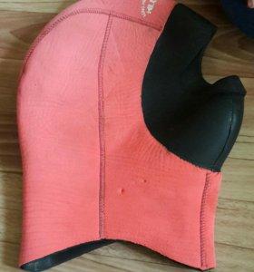 Шапка водолазная для сухого кастюма