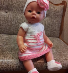 вязания одежда для беби -бона