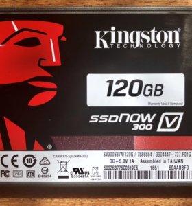 Жесткий диск SSD Kingston 120 Гб