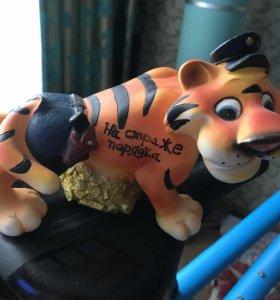 Статуэтка-копилка «Тигр.На страже порядка»