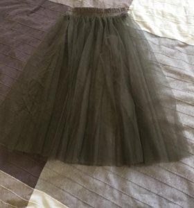 Новая юбка из фатина