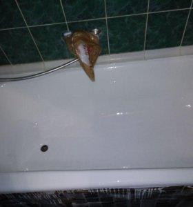 Реставрация ванн, душевых поддонов.