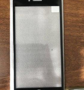 3D стекло для Iphone 7,8 чёрного цвета