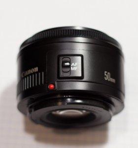 Canon 50 mm 1,8 f объектив
