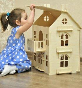 """Новый кукольный домик """"Арина"""""""