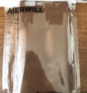 Коричневый силиконовый чехол для Iphone 7,8 Plus