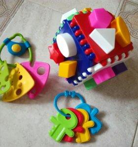 Логический куб, сырок, ключи