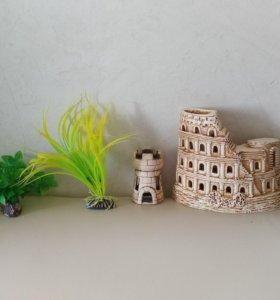 Гроты и растения