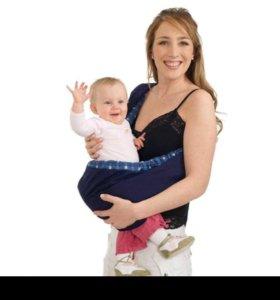 Колыбель мешочек для новорождённых и до 1,5 лет