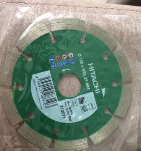 Алмазные диски hitachi для болгарки
