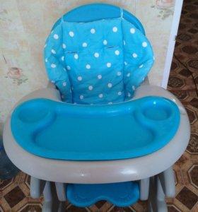Детский стульчик для кормления, транформер