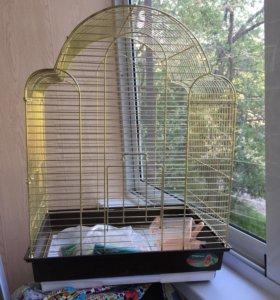 Клетку для птичек