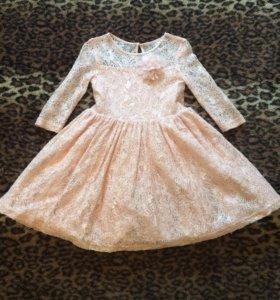 Платье р.116-122 см.