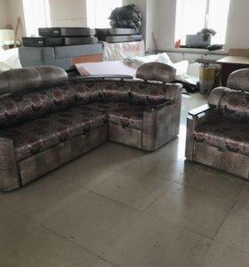 Угловой диван +Кресло « Салют»!!!