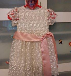 Праздничное платье 86 размер