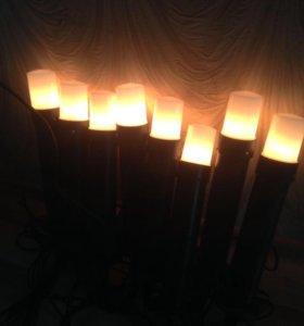 Новые Садовые фонари
