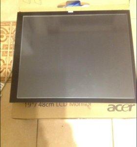 Сенсорный экран 19 дюймов с защитным стеклом