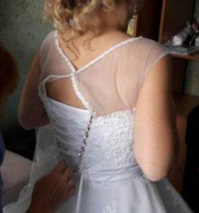 Свадебное платье👰👑