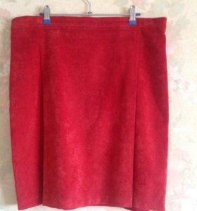 Малиновая юбка